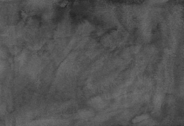 Watercolor dark gray background texture. monochrome water color painting.