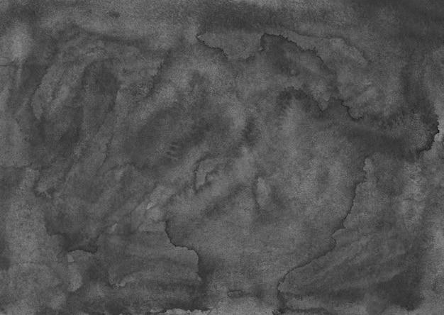 Watercolor dark gray texture