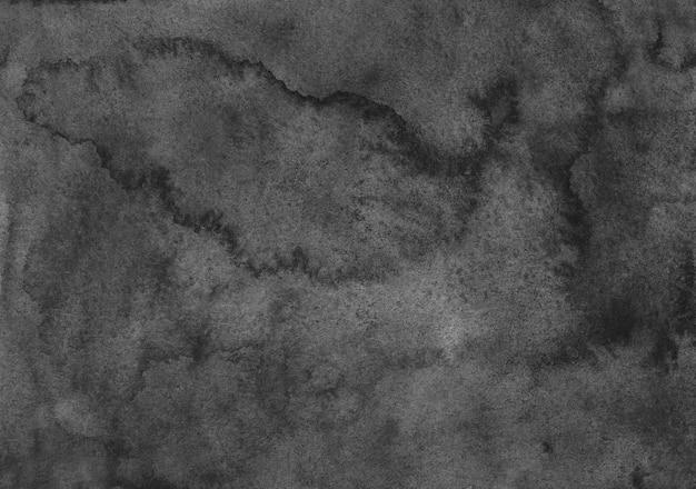 Акварель темно-серая текстура