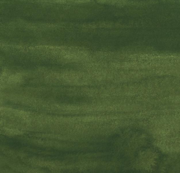 水彩ダークマスタードグリーンの背景テクスチャ