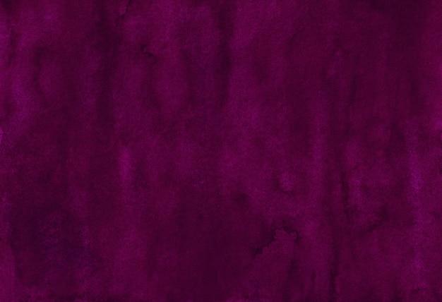 Акварель темно-фиолетовый цвет фона текстуры