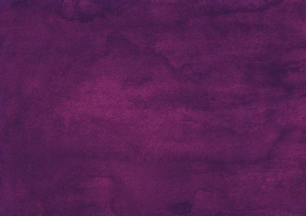 Watercolor dark purple color background