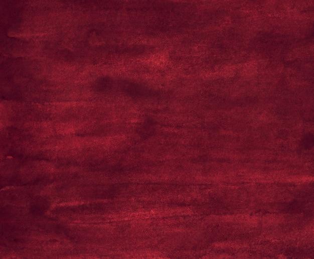 Watercolor dark red