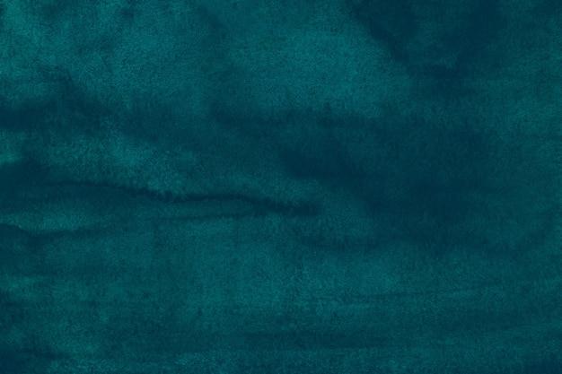 Акварель темно-бирюзовый синий фон текстуры