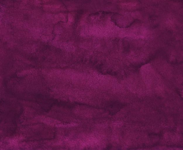 Акварель темно-малиновый фон