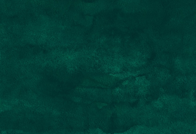 水彩の深いエメラルドの背景