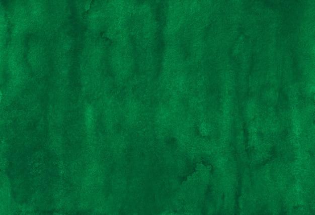 水彩の深い緑の背景