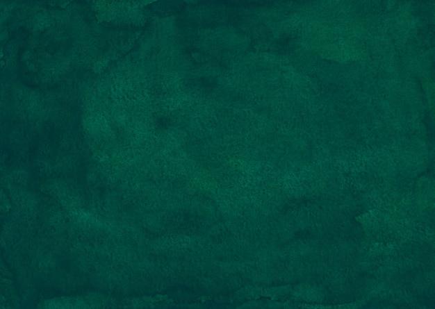 水彩深緑色の液体の背景画