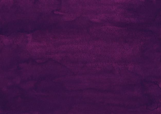 Акварель глубокий гранж фиолетовый фон текстуры