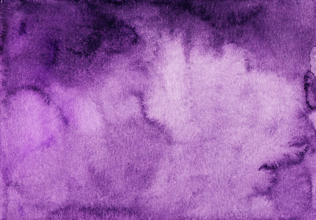 Watercolor deep purple background gradient texture