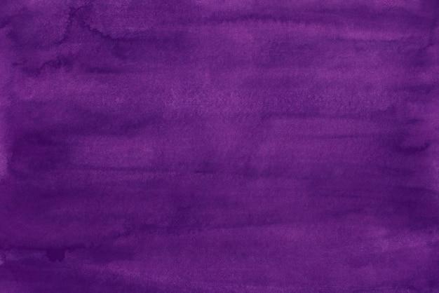 Watercolor deep purple background painting