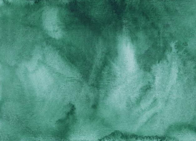 Акварель глубоководная зеленая фоновая живопись