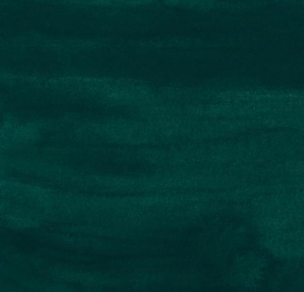 水彩ディープティールグリーンの背景画