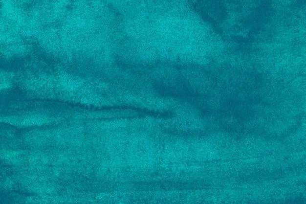 Акварель глубокий бирюзовый фон живопись текстура
