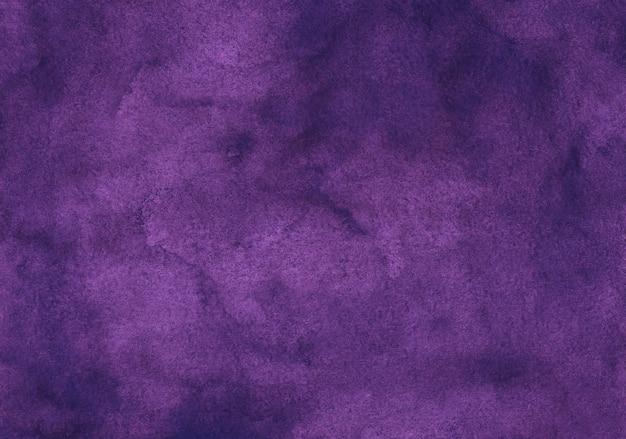 Watercolor deep violet background texture