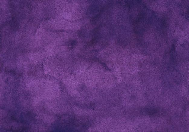 Watercolor deep violet texture