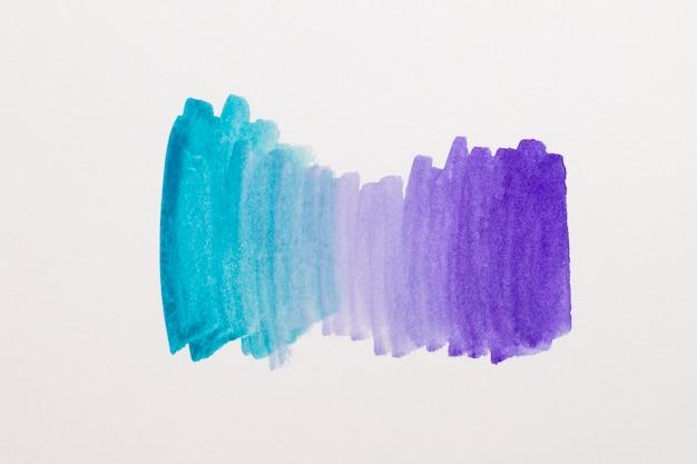 水彩要素のデザインをクローズアップ