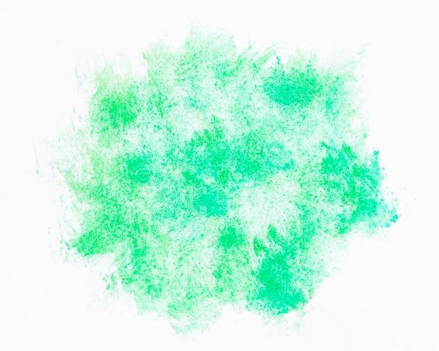 Watercolor emerald green cloud shape