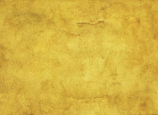 Акварельный золотой цвет фона Premium Фотографии