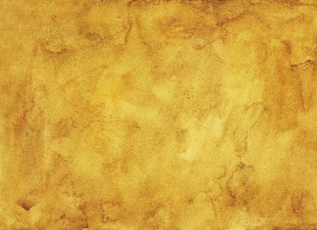 Watercolor golden brown painting