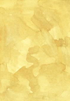 Watercolor golden yellow