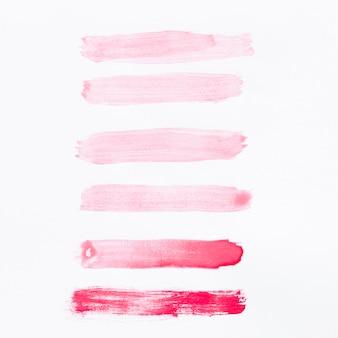 Watercolor gradient lines