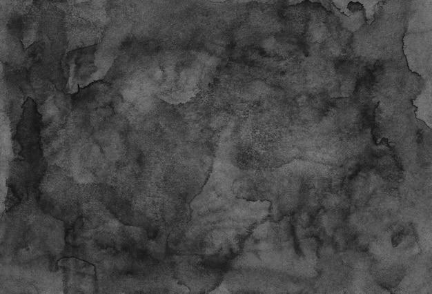 Акварель серая и черная текстура