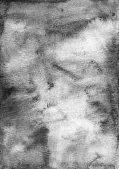 수채화 회색 배경 텍스처입니다. 수채화 추상 오래 된 흑백 오버레이.