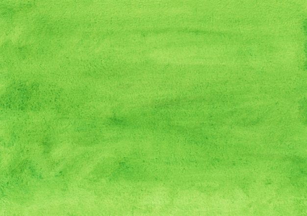 Watercolor green background texture. aquarelle greenery color backdrop. bright watercolour overlay.