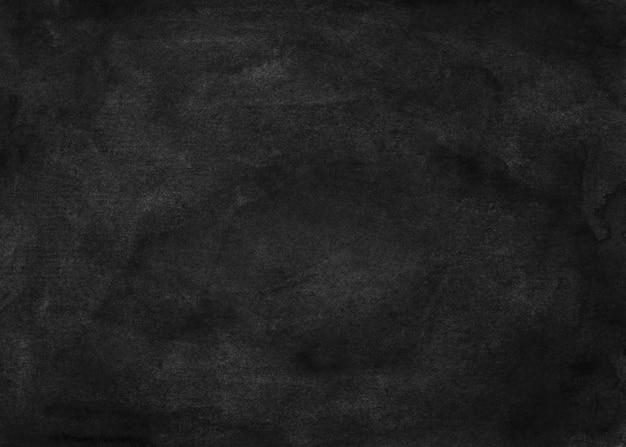 Watercolor grunge black texture