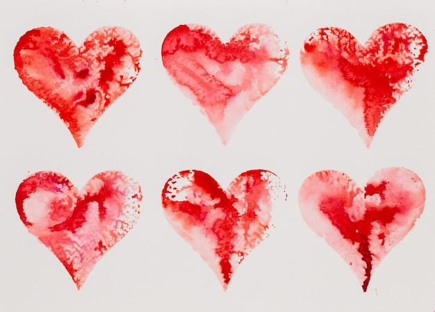 Акварельное сердце