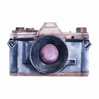 Watercolor images on the theme of car travel. cars, road signs, camera, traffic lights