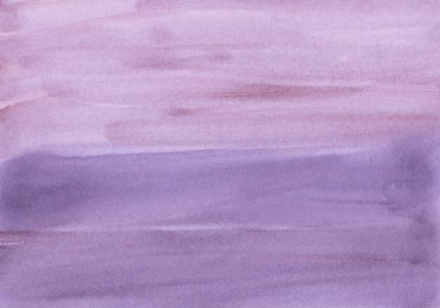 수채화 라벤더 배경 텍스처입니다. 진한 보라색 수채화 배경. 종이에 얼룩, 손으로 그린