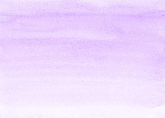 Watercolor lavender and white background texture. aquarelle pastel purple brush strokes backdrop. horizontal template.