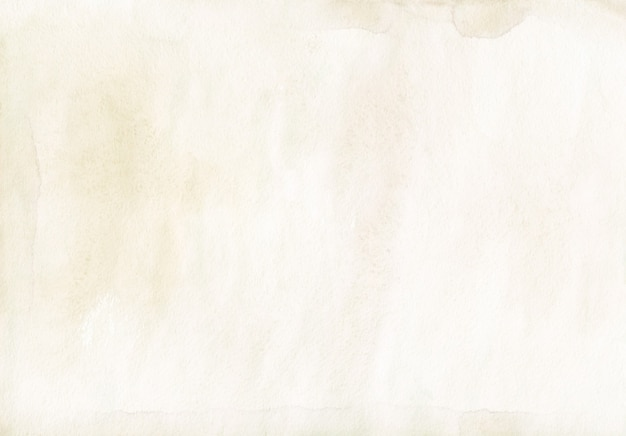 Watercolor light beige background painting.