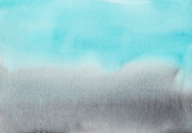 Акварель светло-голубой и серый градиент фона текстура
