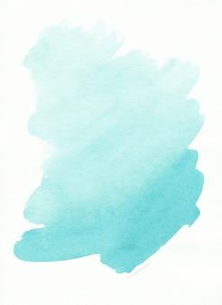 Watercolor light blue spot