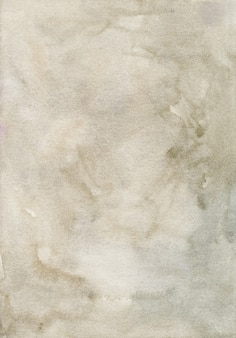 Watercolor light brown background painting.