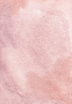 Watercolor light dirty pink