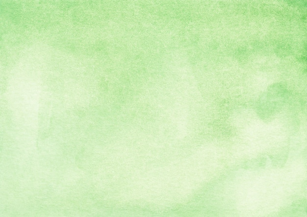 Watercolor light green background texture