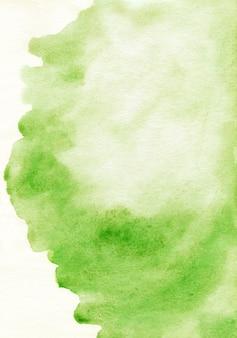 水彩ライトグリーンの背景