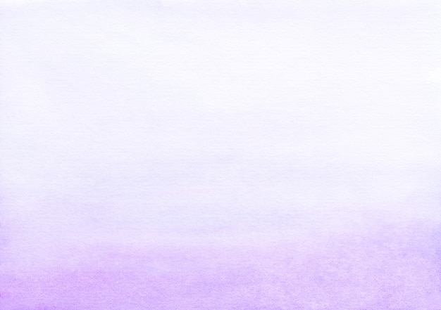 Watercolor light purple and white gradient background