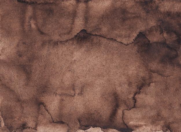 水彩液体茶色背景テクスチャ