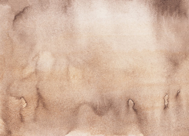 Watercolor liquid brown texture