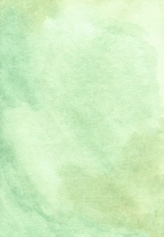 Watercolor messy green