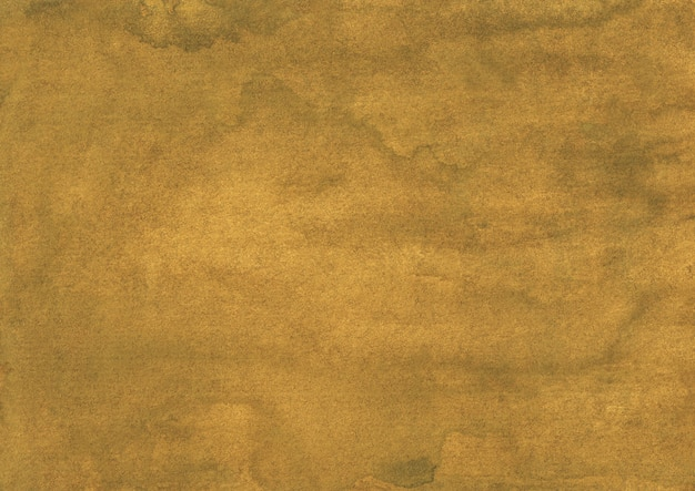 Watercolor old deep golden yellow background