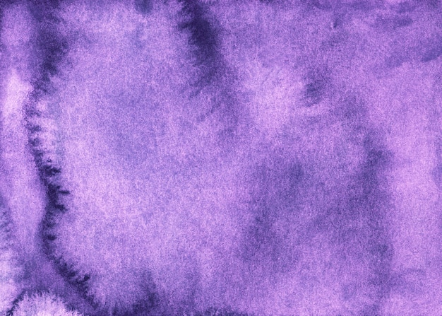 Watercolor old lavender background texture. aquarelle faded purple backdrop, hand painted.