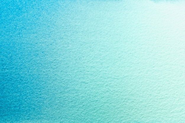 Watercolor painting on canvas with soft blue gradient