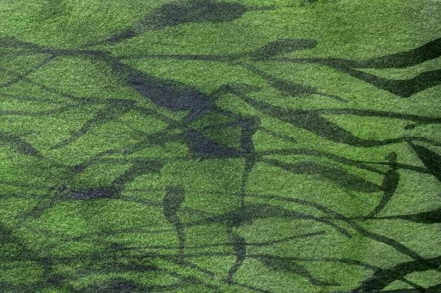 キャンバスにカーキ模様の水彩画