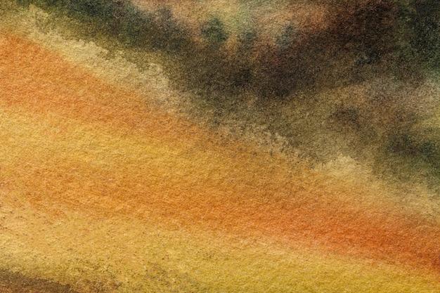 キャンバスに水彩画
